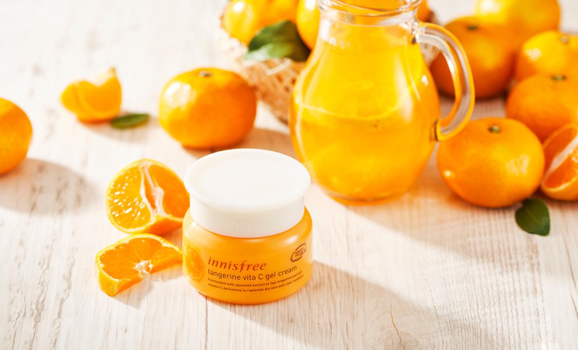 Kem dưỡng Innisfree Tangerine Vita C Gel Cream 50ml
